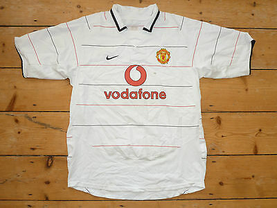 Size:l Manchester United England 2003/2004 Third Football Shirt Jersey Nike