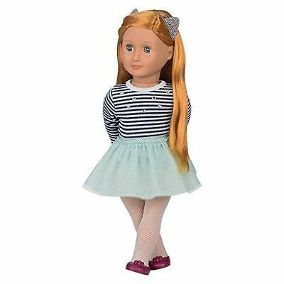 """New Our Generation Arlee 18"""" doll Strawberry Blond hair Fits American Girl"""