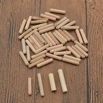 Round Fluted Wood Craft Dowel Pins Woodworking Crafts Grooved Fluted Wooden