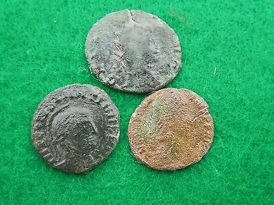 Roman coins lot of 3.