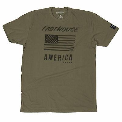 Fasthouse MX American Motorcycle Mens Tee Shirt
