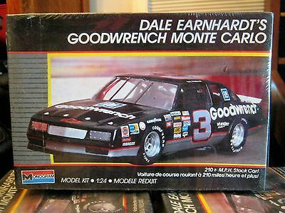 sealed Model Kit NASCAR Dale Earnhardt's Goodwrench  Monte Carlo Monogram 1:24