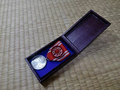 WWII Japanese Red Cross Medal ARMY NAVY BADGE ORDER ANTIQUE FLAG 0A11