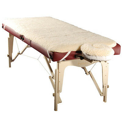 Massage Table Fleece Pad Set - Face Cover And Sheet