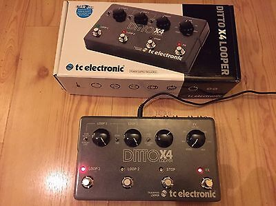 TC Electronic Ditto X4 Stereo Looper