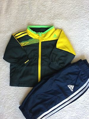 Adidas Boy's Baby Toddler F50 Tracksuit Shellsuit 3 months to 18 months