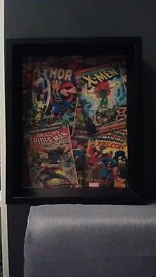 Comic book collection sign