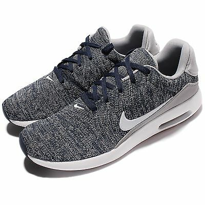 Nike Air Max Modern Flyknit Grey White Men Running Shoes Sneakers 876066-400