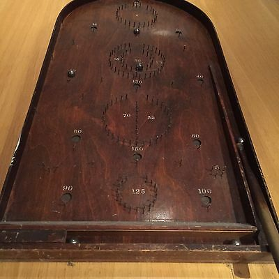 Wooden Table Top Bagatelle