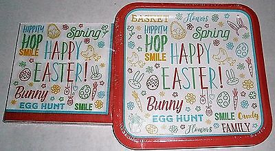 EASTER Paper Plates and Luncheon Napkins  EASTER FUN