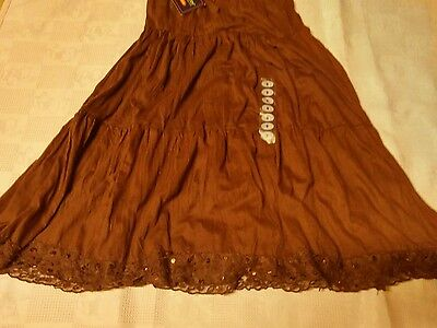 Austin kids clothing co. girls size small brown  skirt new with tags