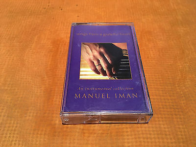 1 x MC MANUEL IMAN,songs from a greatful heart,Visions Int.,guter Zustand