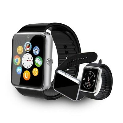 White DZ09 Bluetooth Smart Watch GSM SIM Camera for iPhone Samsung Android Phone