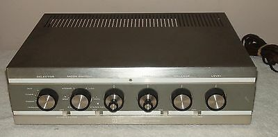 Vintage Knight KA-55 Integrated Stereo Amplifier Untested