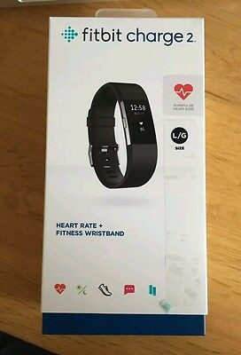 Fitbit Charge 2 Large Black (Used)