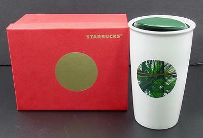 Starbucks  Travel Coffee Tea Ceramic Mug With Lid Dot Series NEW Gift Box
