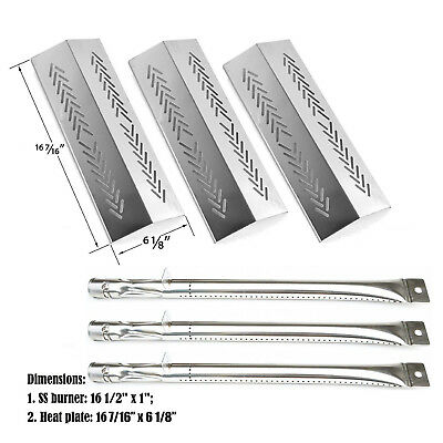 Grill Pro 226454 2009, 226464, 236454,236464 Grill Replacement Burner Heat Plate