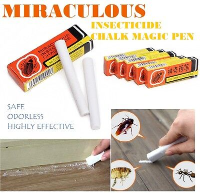 *10pcs* Miraculous Insecticide Chalk Cockroach Bug Pest Killer **FREE SHIPPING**