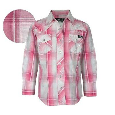 Thomas Cook Pure Western Girl's Rose Shirt Size 6