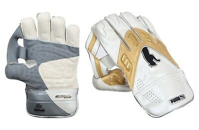 Puma Calibre Reserve (Boys) Wicket Keeping Gloves + Free Cotton Inner