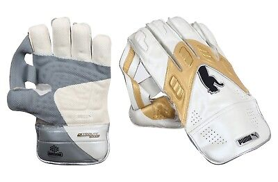 Puma Calibre Reserve (Youth) Wicket Keeping Gloves + Free Cotton Inner