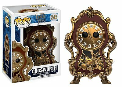*NEW* Disney Beauty and the Beast: #245 Cogsworth POP Vinyl Figure by Funko