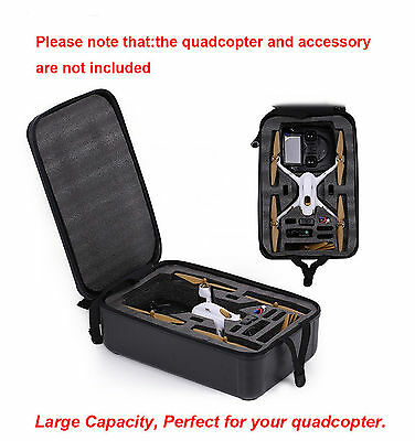 ABS Hard Shell Backpack Case Suit For Hubsan H501S Qaudcopter