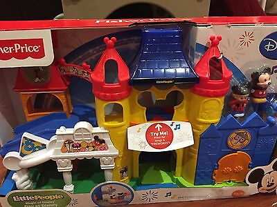 Fisher Price Little People Magic Of Disney Day At Disney