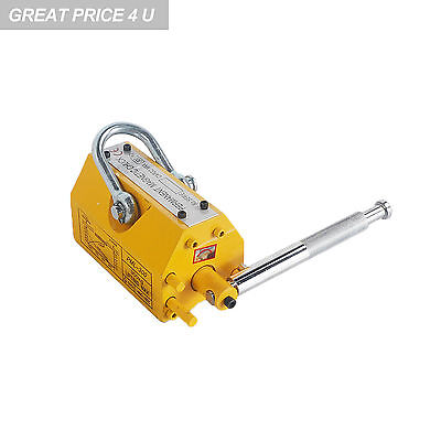 New Heavy Duty 660 lb Steel Lifting Magnet 300 KG Magnetic Lifter Hoist or Crane