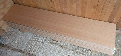 5 Pieces of New 5.5mm B/BB Exterior Grade Hardwood Faced Plywood 64½in x 17in
