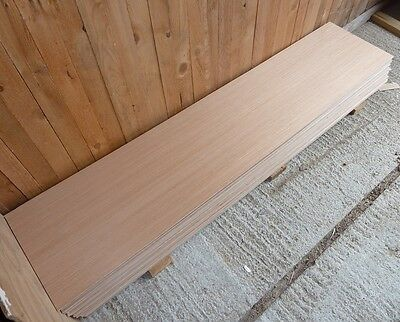 15 Pieces of New 5.5mm B/BB Exterior Grade Hardwood Faced Plywood 64½in x 17in