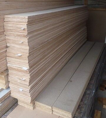 10 Pieces of NEW 9mm Birch Plywood 8ft x 8½in (2440mm x 215mm)