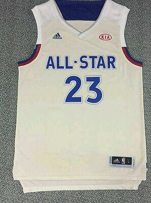 Pre ordine CANOTTA NBA 23 LEBRON JAMES CLEVELAND CAVS ALL STAR GAME 2017 EAST