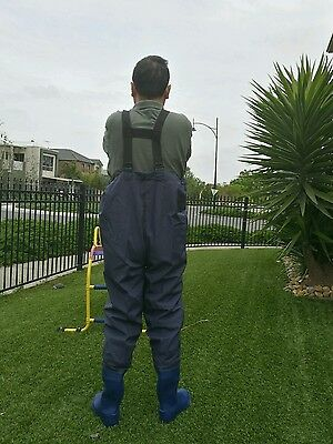 Quality Nylon Fishing Chest Waders Size 5/6/7/8/10/11/12/13Waterproof$45
