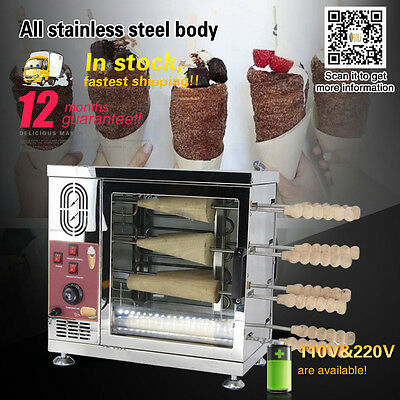Home or commercial use 8 Roller Heavy Duty 110v 220v Electric Ice Cream oven