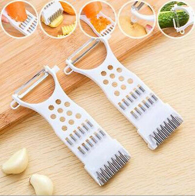 Multipurpose Tool Shreds Peeler Graters Kitchen Cooking Potato Cucumber Carrot
