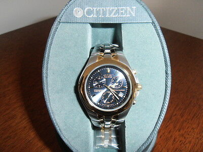Citizen Eco-Drive Mens Chronograph Watch E811 - K001218