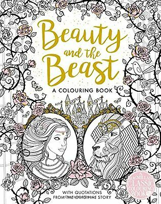 The Beauty and the Beast Colouring Book Gabrielle Villeneuve 9781509839360