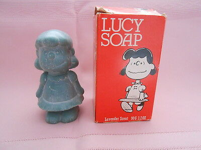 Vintage Peanuts/Snoopy Lucy Lavender Soap in Box