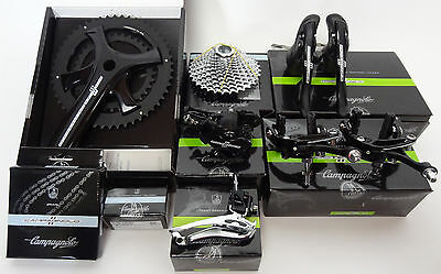 2017 Campagnolo Potenza 11 Speed Groupset 9 Pieces climbing 11-32 casette NEW
