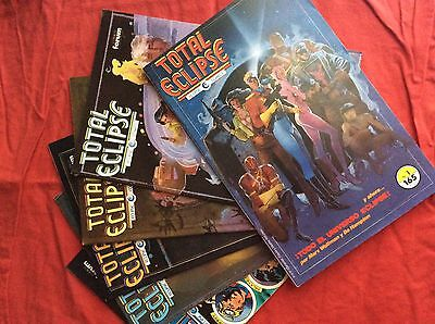 Total Eclipse Bill SIENKIEWICZ covers.