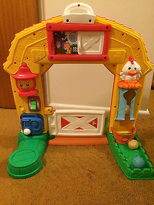Fisher Price Laugh and Learn Farm Gate Play Centre