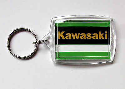 Colour Matched Kawasaki Zrx1100R Zrx1200R Elr Green Limited Edition Key Ring