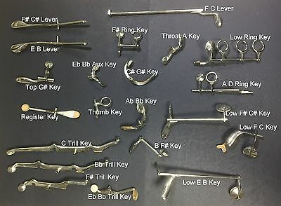 Replacement Spare parts for Selmer Prelude clarinet