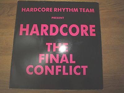 "Hardcore Rhythm Team  ‎– Hardcore - The Final Conflict  12"" Single   198"
