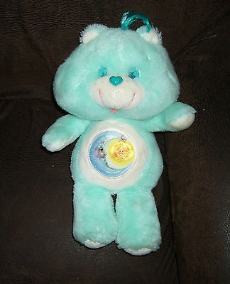 vintage 80s plush stuffed toy  Kenner Care Bears Bedtime Bear