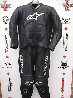 Alpinestars SP-1 Two Piece Race suit with hump uk 48 euro 58