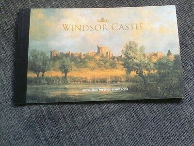 2017 Windsor Castle - Prestige Stamp Book - Psb Dy20