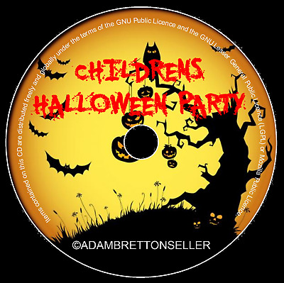 Halloween Childrens Party Cd - Various Artists - Kids Spooky Scary Kids Ghost