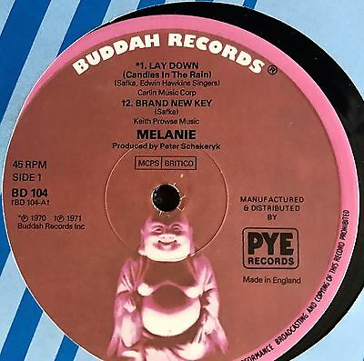 """Melanie - Lay Down, (Candles in the Wind), Vinyl 12"""" single"""